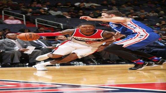 Wizards Defeat the Sixers, 100-79