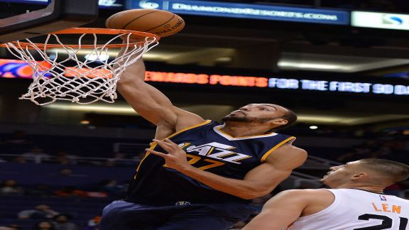 Highlights: Knight Drops 17 in Suns Loss to Jazz